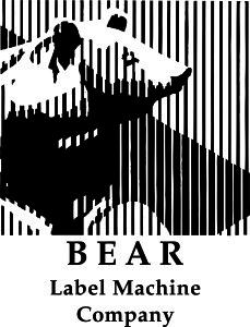 bear label machine company